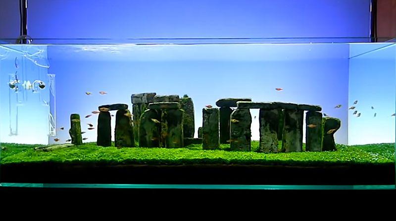 有人把英国著名的巨石阵复制回家了